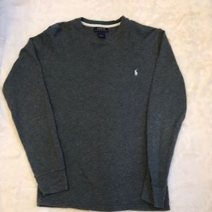 Polo by Ralph Lauren men's gray thermal